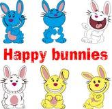 króliki szczęśliwi Obraz Royalty Free