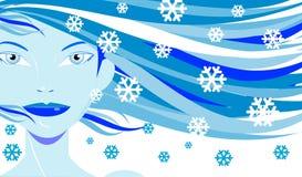królowa śnieg fotografia stock