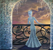 królowa śnieg ilustracja wektor