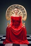 Królowa Obrazy Stock