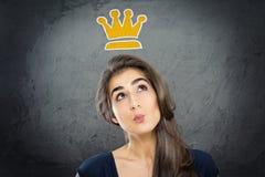królowa Zdjęcia Stock