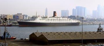 Królowa Elizabeth 2 w Dubaj zdjęcia stock