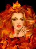 królowa jesienią Obrazy Stock