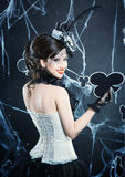 Królowa kluby fotografia stock