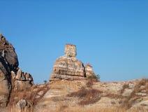 Królowa naturalny park Isalo Madagascar Zdjęcie Royalty Free