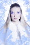 królowa śnieg zdjęcia royalty free