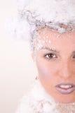 królowa śniegu Obraz Royalty Free
