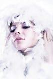 królowa śniegu obrazy royalty free