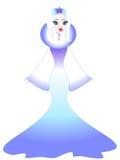 królowa śniegu ilustracyjny wektora Fotografia Stock