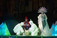 królowa śniegu ilustracyjny wektora Fotografia Royalty Free