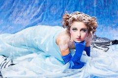 królowa piękny śnieg Zdjęcia Royalty Free