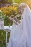 Królowa pisze liście Zdjęcie Royalty Free