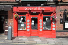 Królowa Tarts bar w Dublin Fotografia Stock