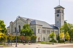 Królowa uniwersytet Grant Hall zdjęcie stock