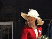 królowa urodzinowa denmarks Margarethe królowa s Zdjęcie Stock