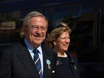 królowa urodzinowa denmarks Margarethe królowa s Zdjęcia Royalty Free