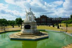 królowa Victoria Królewski Kensington pałac, Londyn Obrazy Royalty Free