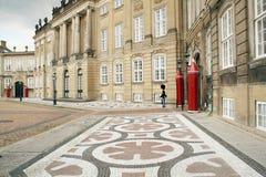 królowe Copenhagen z zamku Zdjęcia Stock