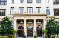 Królowej Anne szkoła średnia Seattle Waszyngton Obrazy Royalty Free
