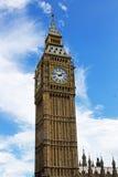 Królowej Elizabeth wierza, Zawiera Big Ben Obrazy Stock