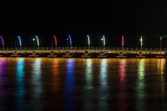 Królowej Emma Pontonowy most Zdjęcia Stock