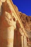 Królowej Hatshepsuts świątynia Obrazy Royalty Free