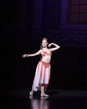 """Królowej piękna """"One Tysiąc i Jeden Nights†baletniczy  Obraz Royalty Free"""