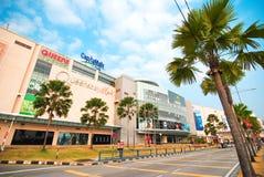 Królowej Podpalany centrum handlowe Penang zdjęcia royalty free