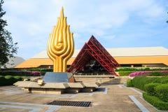 Królowej Sirikit obywatel w Bangkok Obrazy Royalty Free