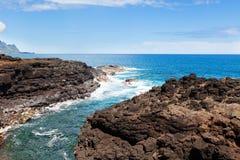 Królowej skąpanie przy Kauai Obrazy Royalty Free
