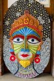 Królowej twarzy rozmiaru duża maska Obraz Royalty Free
