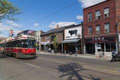 Królowej ulica Toronto Fotografia Royalty Free