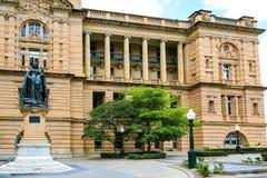 Królowej Wiktoria statua, queens Parkuje, Brisbane Obrazy Royalty Free