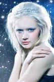królowej zima Fotografia Royalty Free