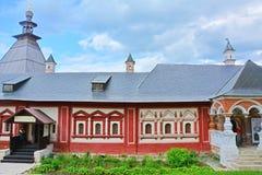 Królowych sala w Savvino-Storozhevsky mężczyzna monasterze w Zvenigorod, Rosja Obrazy Stock