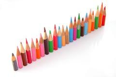 Krótcy ołówki ilustracji