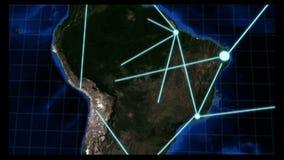 KRÓTKA Narastająca Globalna sieć ilustracji