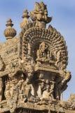 Krótka strona Gopuram apeks Obrazy Royalty Free