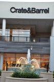 Krótki Pompowy Grodzki centrum w Virginia Zdjęcia Stock