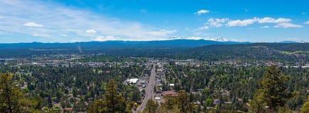 Krökning Oregon Royaltyfria Bilder