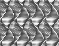 krökt linjer för abstrakt bakgrund royaltyfri illustrationer