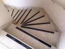 krökt trappa Royaltyfri Bild