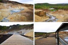 Krýsuvík - Seltún Lizenzfreie Stockfotografie