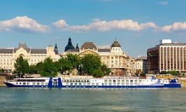 krążownik duży rzeka Obraz Royalty Free