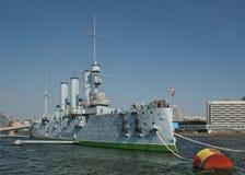 krążownik rewolucji. Zdjęcia Royalty Free