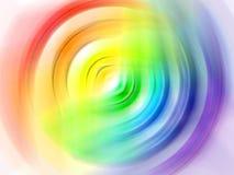 krąg rainbow obraz stock