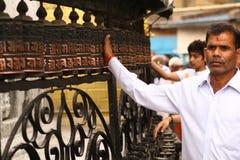 kręceń modlitewni koła Fotografia Stock