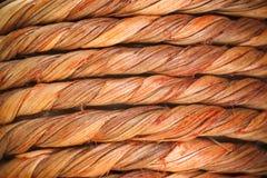 Kręceni drewniani włókna Zdjęcia Stock