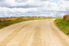 kręcenie nieznane przyszłościowa droga Obraz Royalty Free