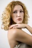 kręcone włosy zdjęcia royalty free